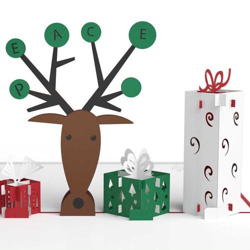 Reindeer with Presents